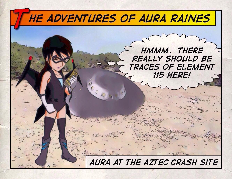 Aura Raines Checks for Element 115