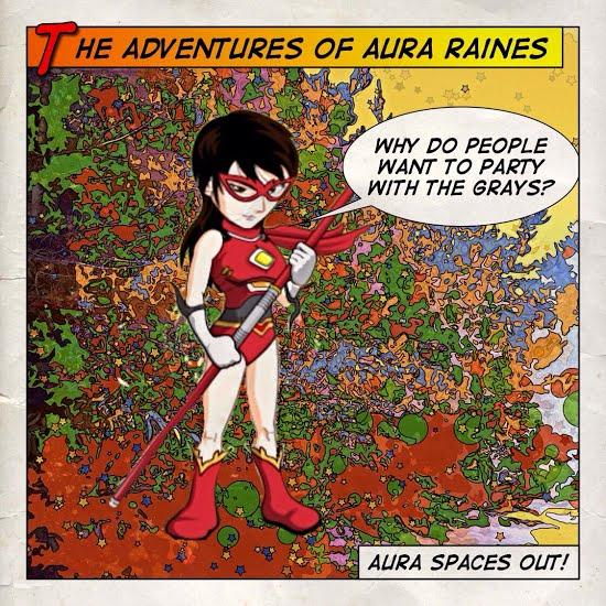 Aura Raines Sometimes Like to Dance