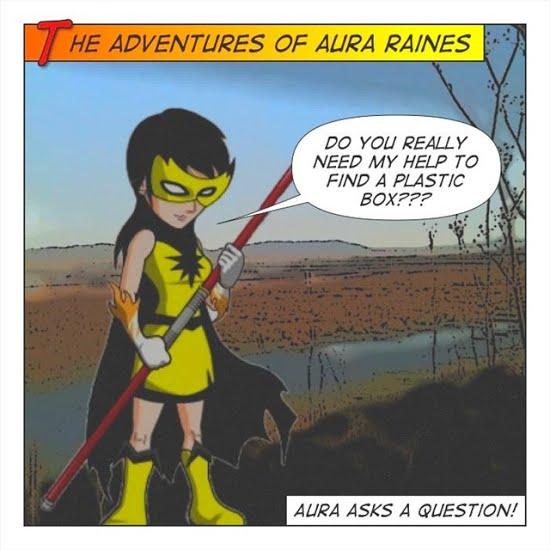 Aura Raines asking a Question