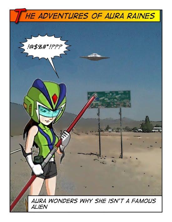 Aura Raines should be a Famous Aliens