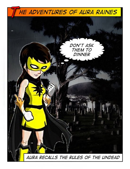 Zombie Hunter and Aura Raines