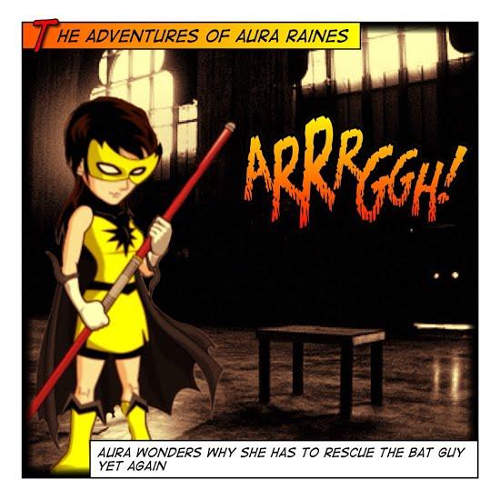 Dark Knight Challenges And Aura Raines