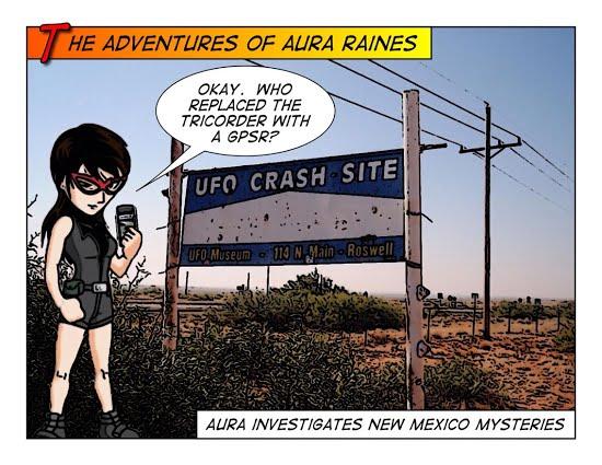 Aura Raines Investigates Roswell