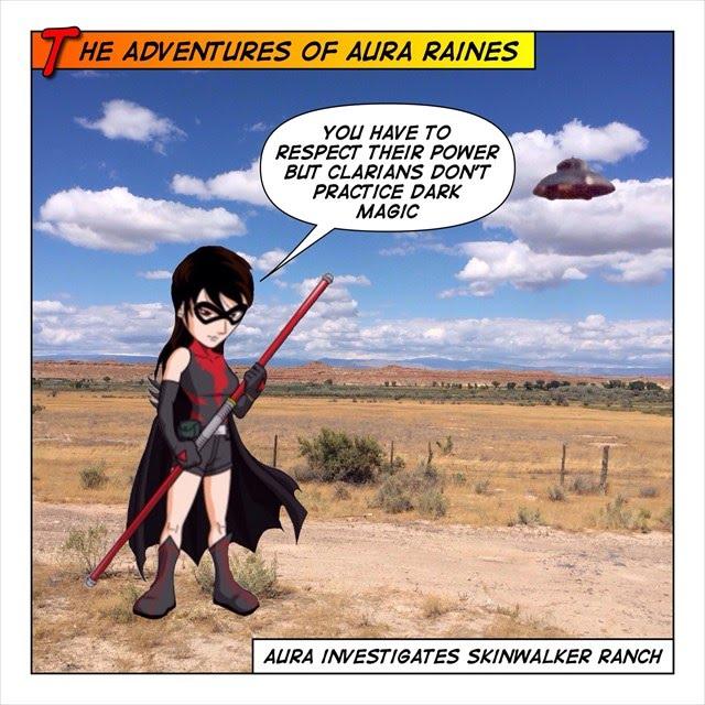 Skinwalker Ranch and Aura Raines