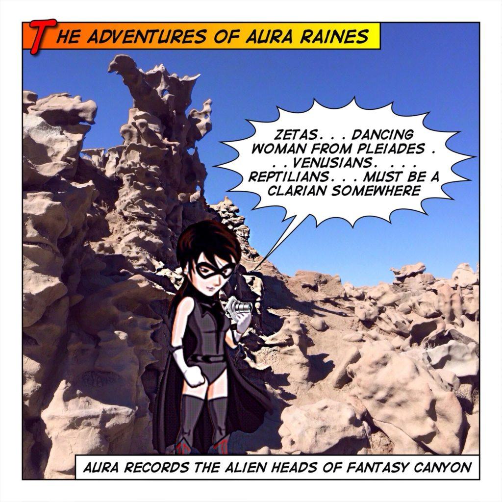 Aura Visits Fantasy Canyon