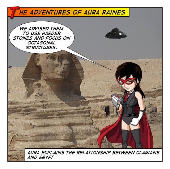 Aura at the Pyramids of Giza