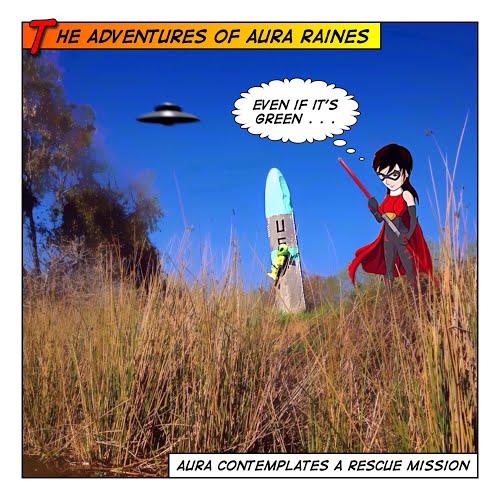 Aura Raines to the Rescue