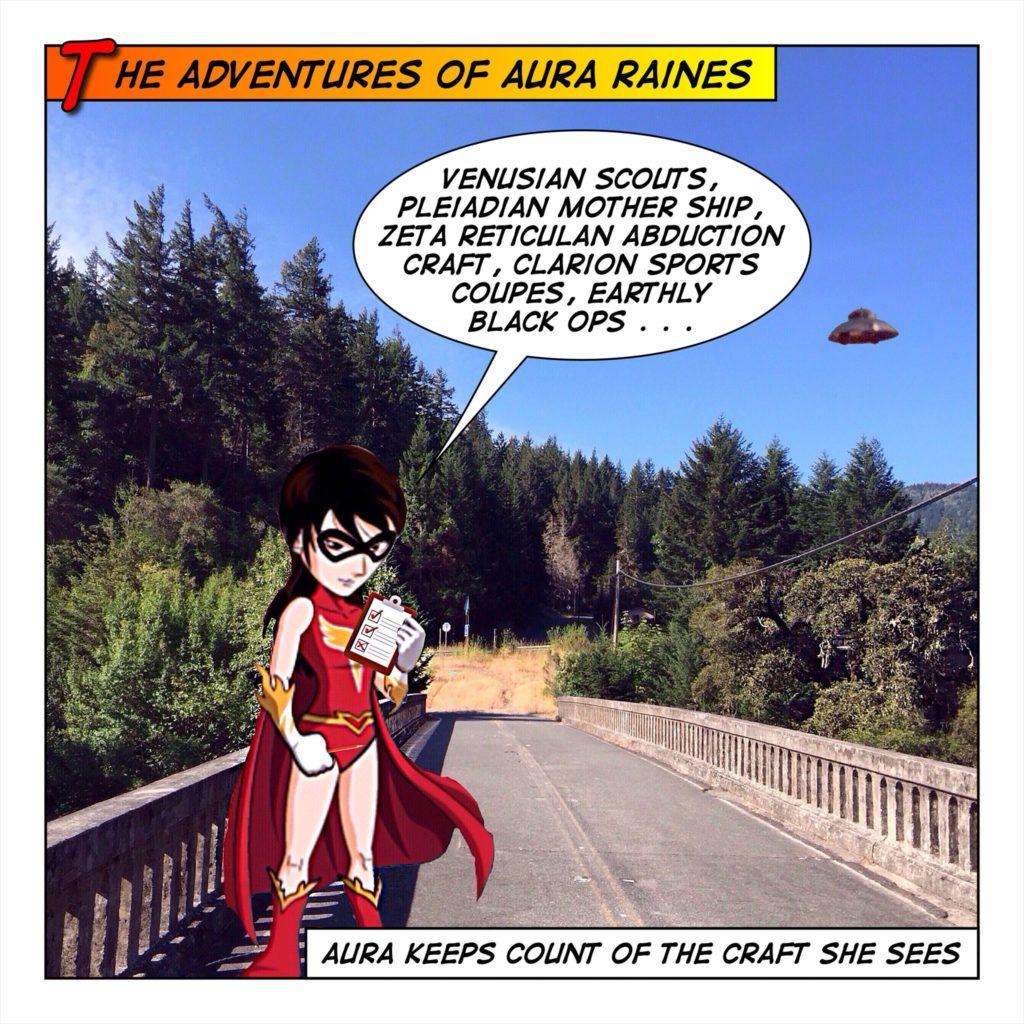 Aura looks for fellow travelers