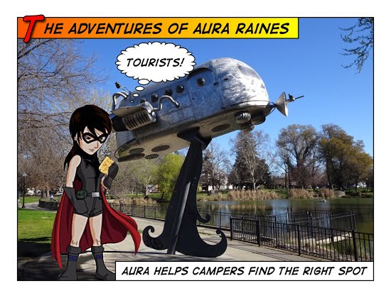 Interplanetary campers